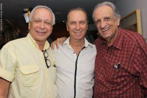 Marco Miranda, Renato Prieto e Bemvindo Sequeira