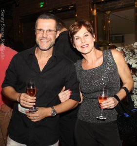 Renato Rabello e Andrea Veiga
