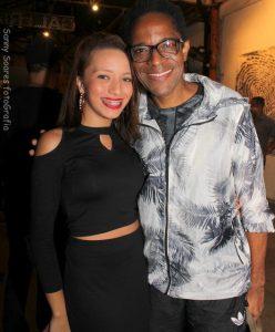 Stella Gomes e Flávio Bauraqui